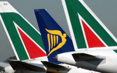 ავიაკომპანია Ryanair-ი Alitalia-ს ყიდულობს