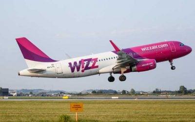 Wizzair -ი ქუთაისიდან 12 ახალ მიმართულებას ამატებს